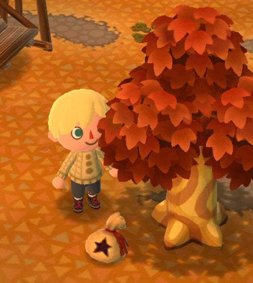ベルの落ちる木