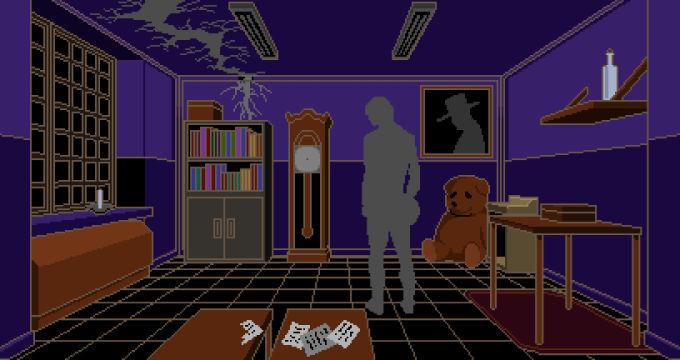 赤い部屋と謎の人物