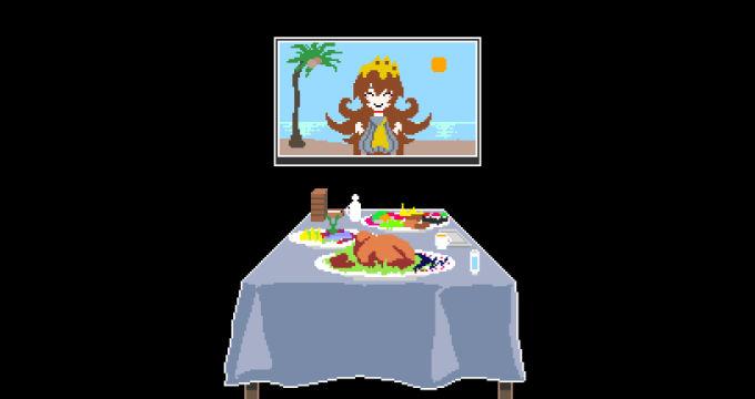 最後の晩餐ルーム
