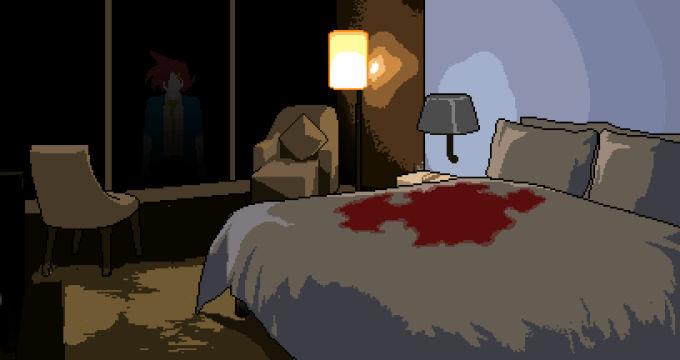 血に染まる部屋1