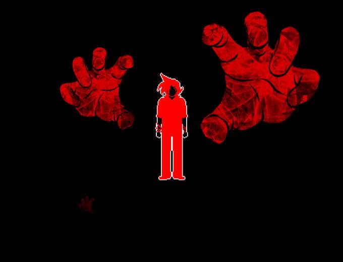 魔の手を振り払う