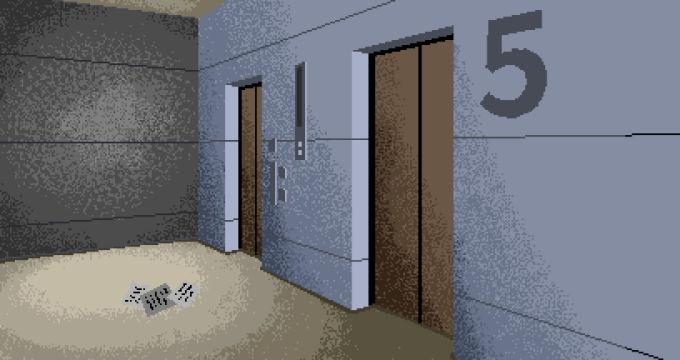5Fエレベーター前