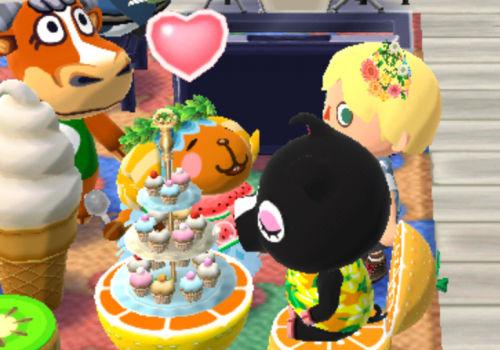 ケーキを食べるみぞれちゃん