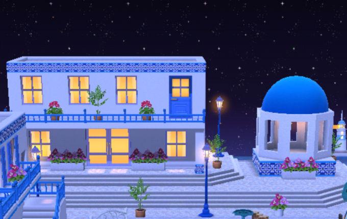 夜のシーサイドタウン
